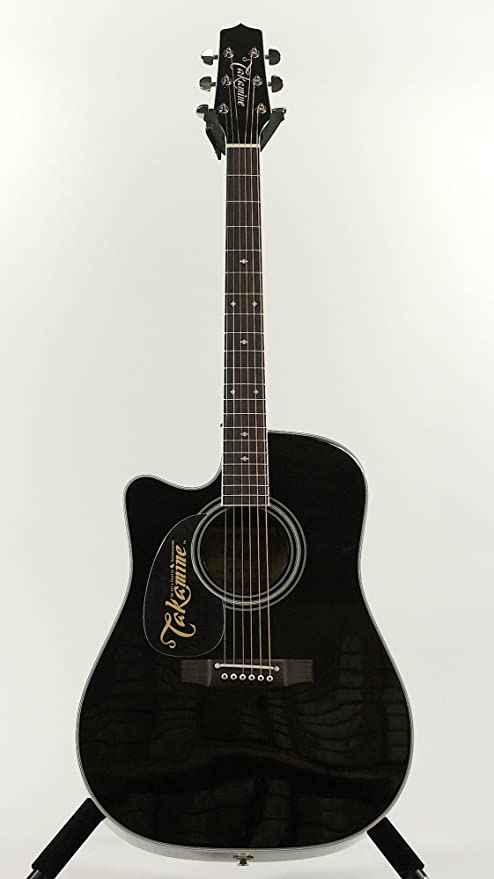 TAKAMINE ef341sc LH zurdos guitarras guitarra de cedro macizo) con ...