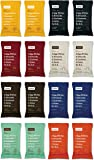 RxBar Real Food Protein Bars Variety Pack, 8 Flavors w/ NEW Maple Sea Salt (Pack of 16)