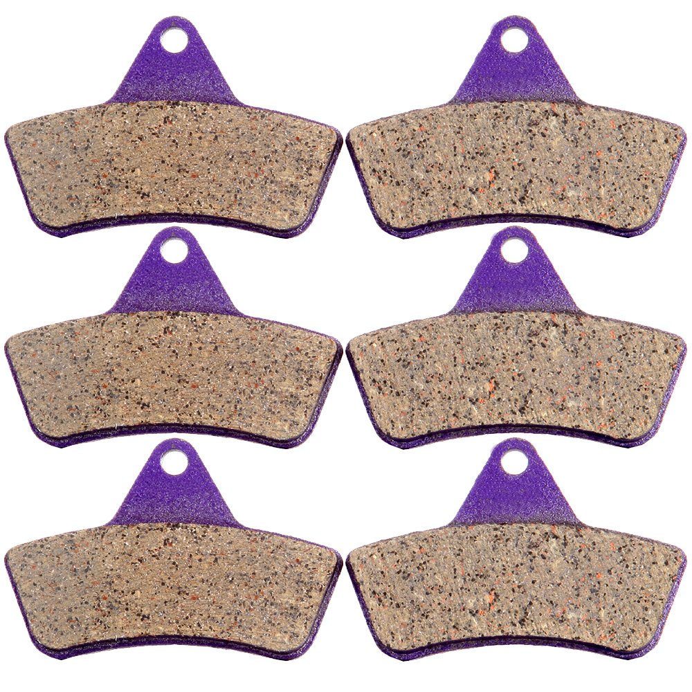 SCITOO Front and Rear Kevlar Carbon Brake Pads fit ARCTIC CAT 500 4x4 1998-2002