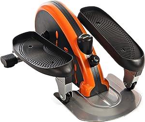 jfit Under Desk & Stand Up Mini Elliptical/Stepper w/Adjustable Angle