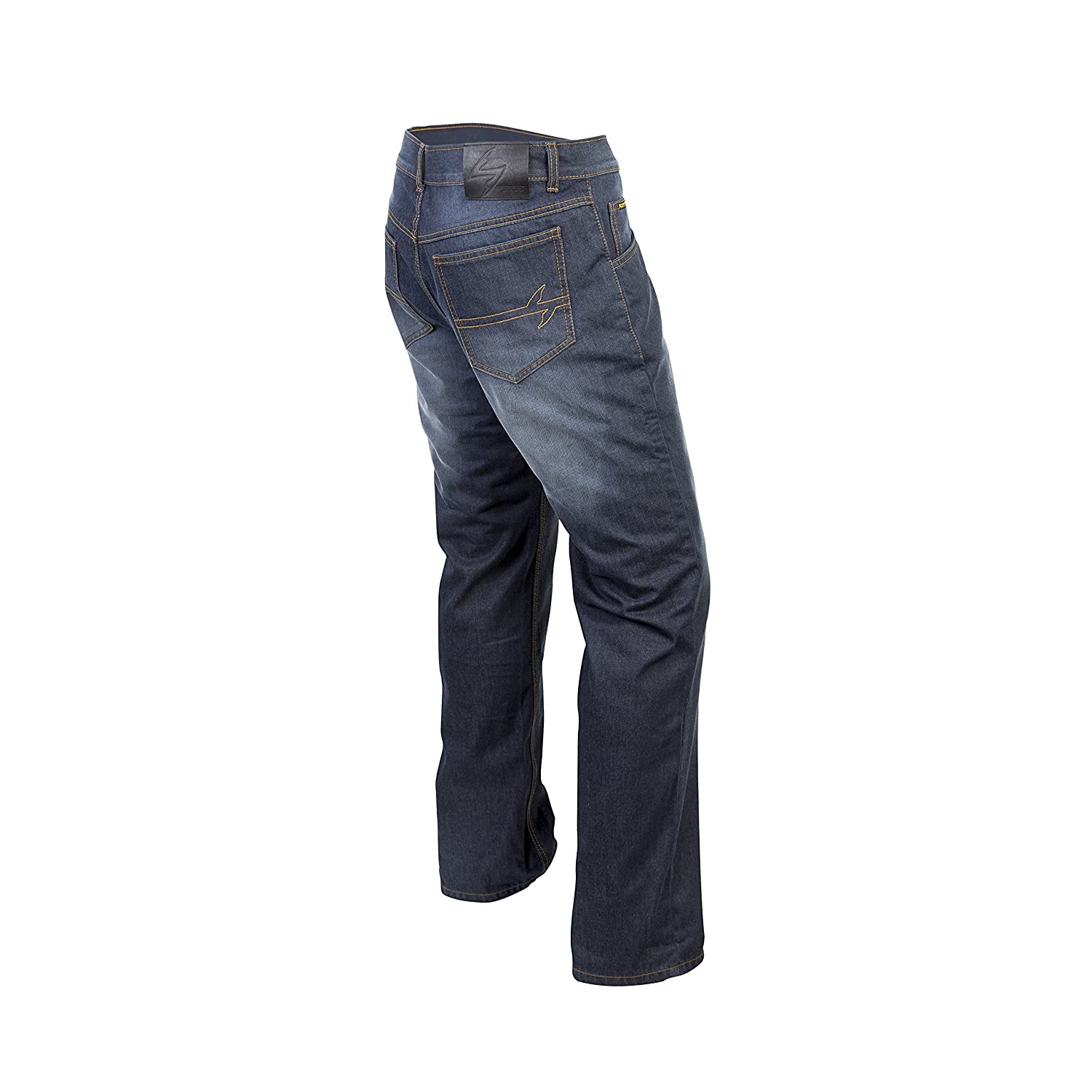 ScorpionExo Covert Pro Jeans Mens Reinforced Motorcycle Pants Wash, Size 38