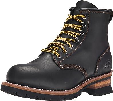 granero Sorprendido Niño  Amazon.com | Skechers Men's Cascades | Industrial & Construction Boots