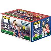 Panini-100 Pochettes Foot Championnat de France 2018-2019, 2428-001, Unique