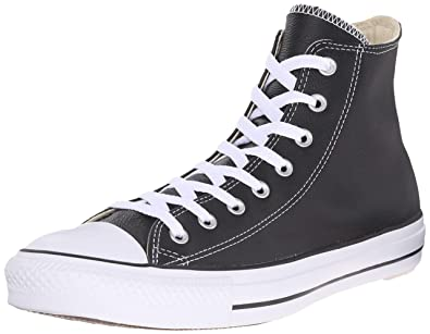 63466b67fc846 Converse Women's Chuck Taylor All Star Leather High Top Sneaker Unisex