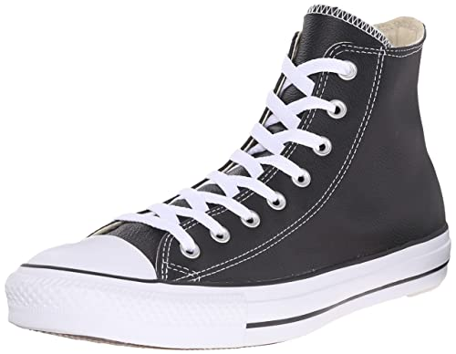 Converse Chuck Taylor All Star Core Lea Hi, Baskets mode mixte adulte