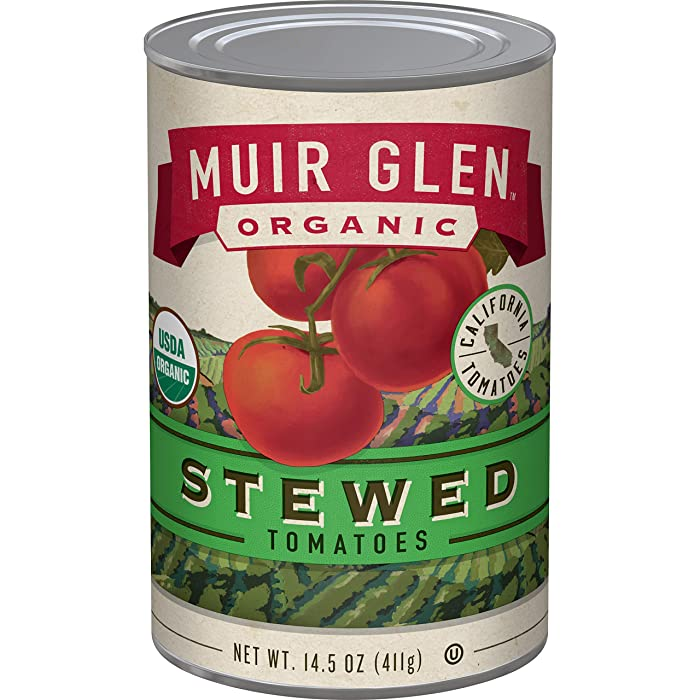 Muir Glen, Organic Stewed Tomatoes, 12 Cans, 14.5 oz