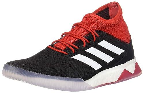 newest collection fbaef 12dad Adidas Predator Tango 18.1 - Zapatillas de fútbol para Hombre, Negro,  Blanco, Rojo