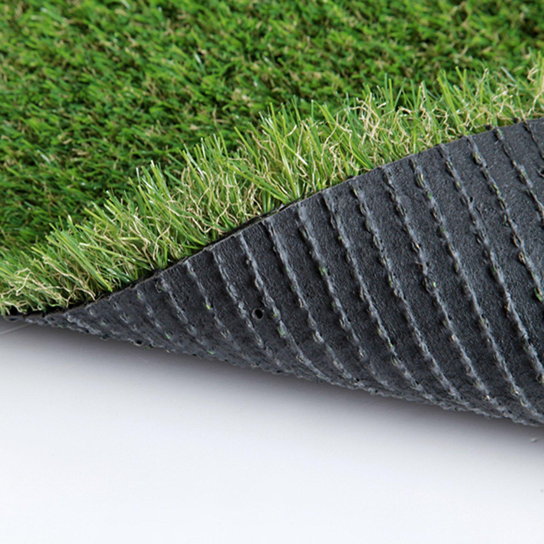 SUMC Hierba Artificial/ Estera/Césped Artificial Falsa al aire libre Césped de verde Alta densidad Alfombra de Cesped de Jardín realista Realista para ...
