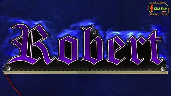Große und Farbe Led Namensschilder 50 x 15 cm oder Ihr Wünschname