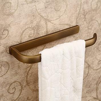 Hiendure® Latón antiguo Montado en la pared Cocina Estante de toallas Soporte para papel de