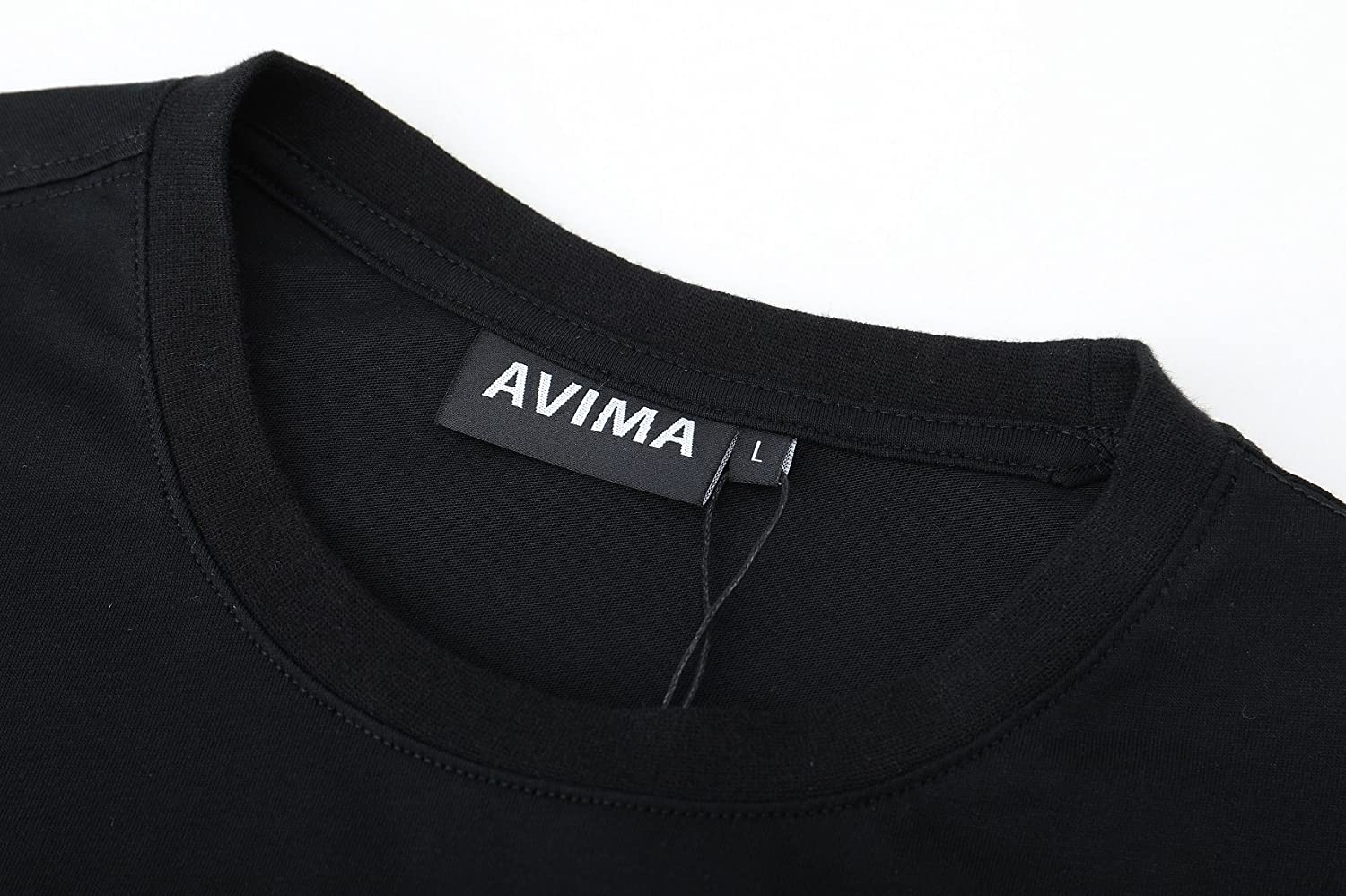 AVIMA Classic Mens Shirt Regular Fit Super-Soft Cotton /& Athletic Fit