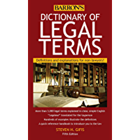 Dictionary of Legal Terms: Definitions and Explanations for Non-Lawyers (English Edition)