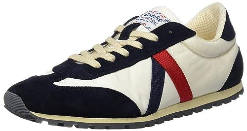 El Ganso Walking Clásica Nylon, Zapatillas para Hombre, (Blanco), 45 EU: Amazon.es: Zapatos y complementos