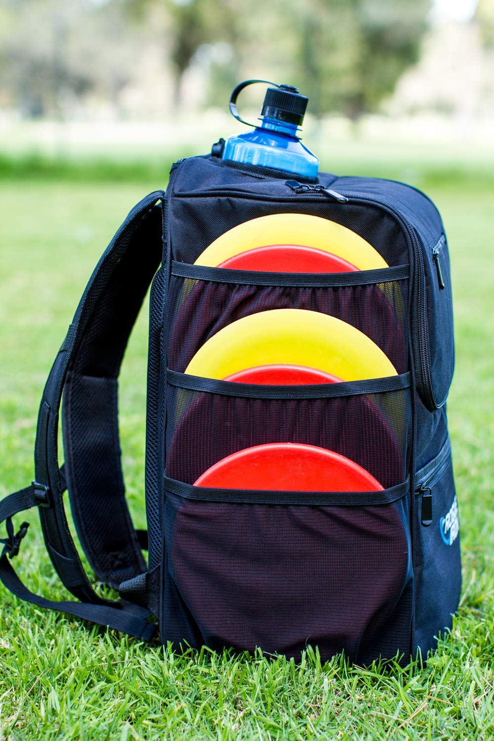 Rogue Iron Disk Golf Backpack & Cooler (Black) by Rogue Iron Sports (Image #6)
