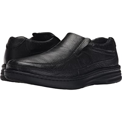 Drew Bexley - Men's Adjustable Slip-on Shoe Black CLF - 15 4w | Loafers & Slip-Ons