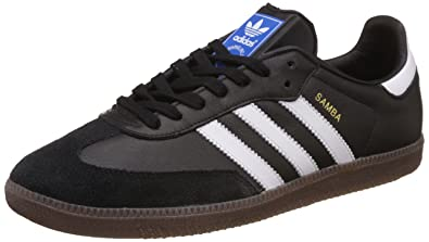 low cost df407 6b0c9 adidas Men s Samba Og Low-Top Sneakers, Black (Cblack ftwwht gum5