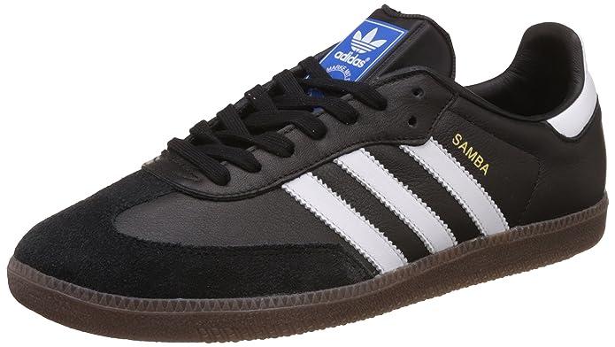 adidas Samba oG Schuhe Herren schwarz mit weißen Streifen