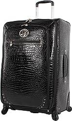 Kathy Van Zeeland Luggage Croco PVC 28