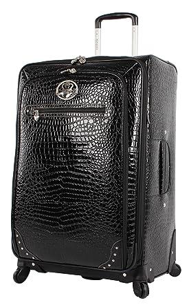 Amazon.com: Kathy Van Zeeland Luggage Croco PVC 28