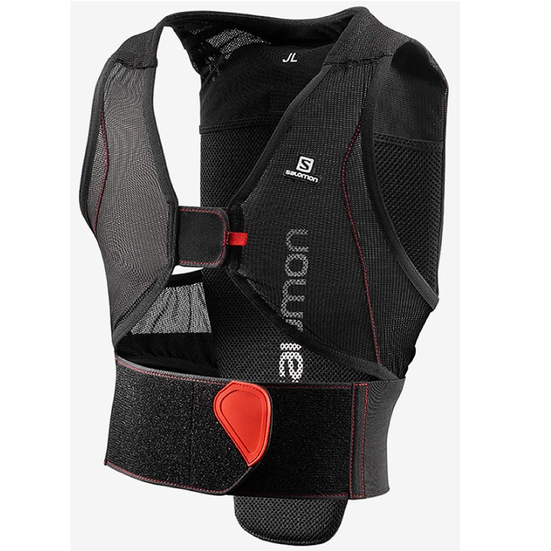 サロモン(SALOMON) スキー プロテクター FLEXCELL JUNIOR 黒/赤 (フレックスセル) L39139300  JXL