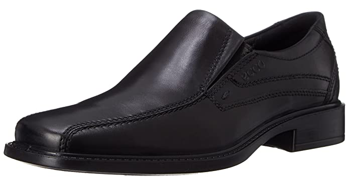 ECCO Men's New Jersey Loafer,Black,45 EU (US Men's 11-11.5 M)