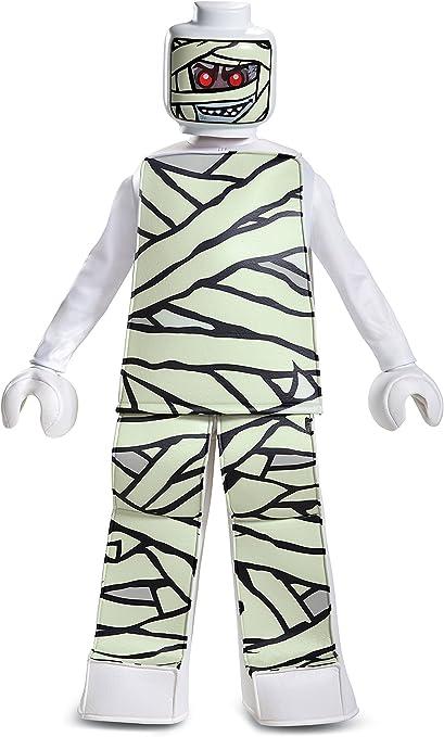 Large White Disguise Lego Mummy Prestige Costume 10-12
