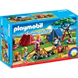 PLAYMOBIL 6888 - Zeltlager mit LED-Lagerfeuer