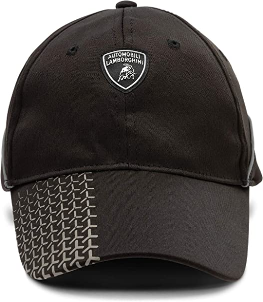 Lamborghini Y-Shaped Detailed Cap Black