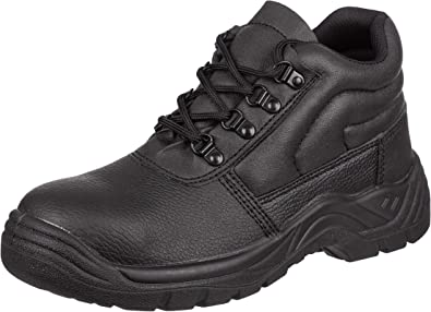 Steel Toe Cap Midsole Work Safety Chukka Boots Free Next Day Delivery!