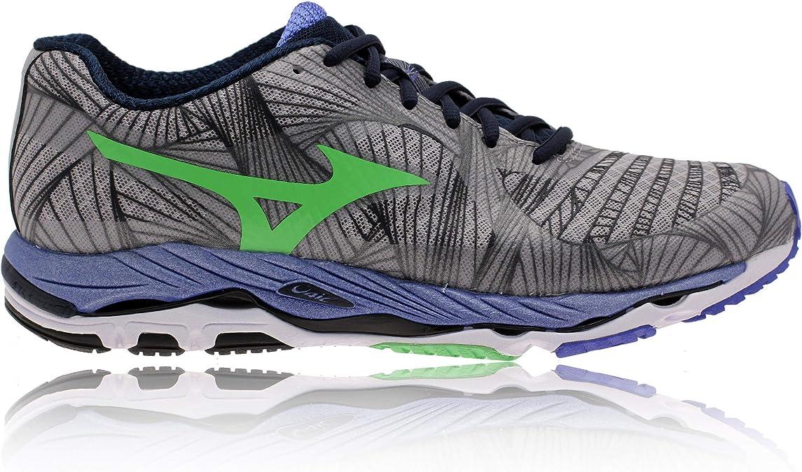Mizuno - Zapatillas de running de Material Sintético para hombre Gris gris: Amazon.es: Zapatos y complementos