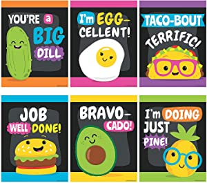 Funtastic Food Friends Classroom Posters - 6 Pieces - Educational and Learning Activities for Kids