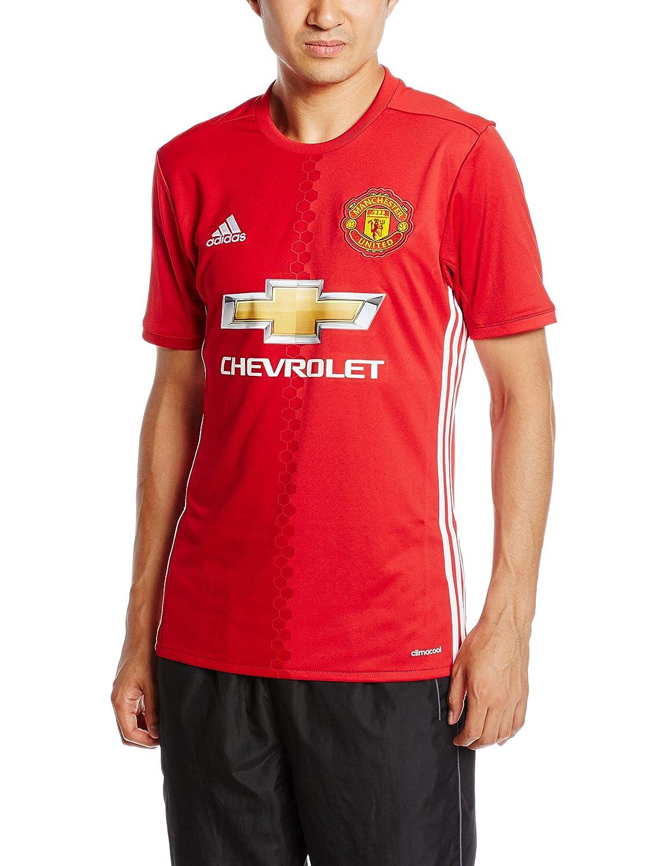 2016-2017 Man Utd Adidas Home Football Shirt