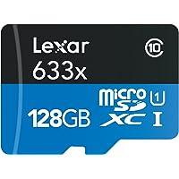 Lexar LSDMI128BBEU633A Scheda di Memoria MicroSDXC da 128 GB