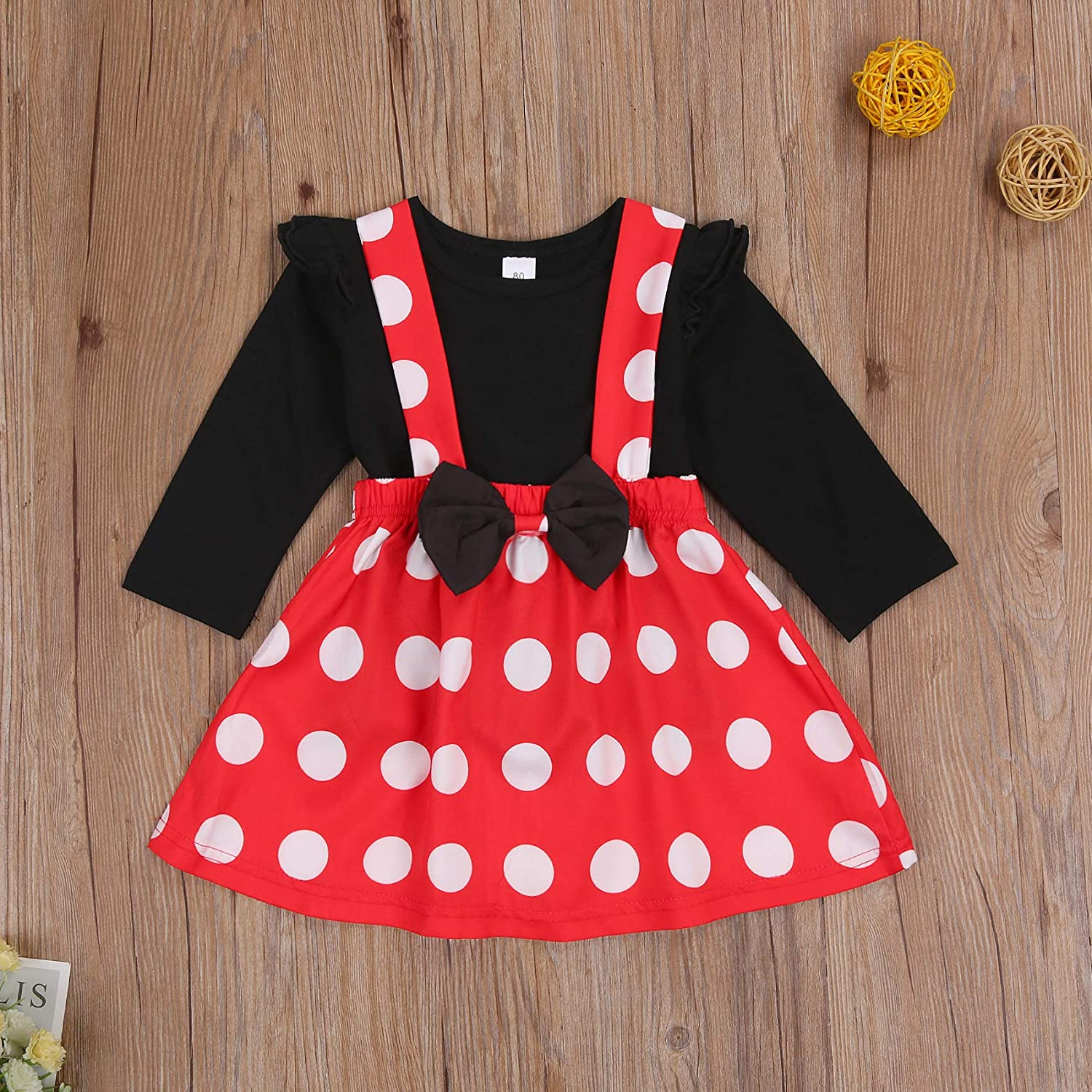 Toddler Baby Girl Suspender Skirt Sets Cotton Linen Top Ruffle Strap Overall Skirt Dress Set Outfit Fall Clothes