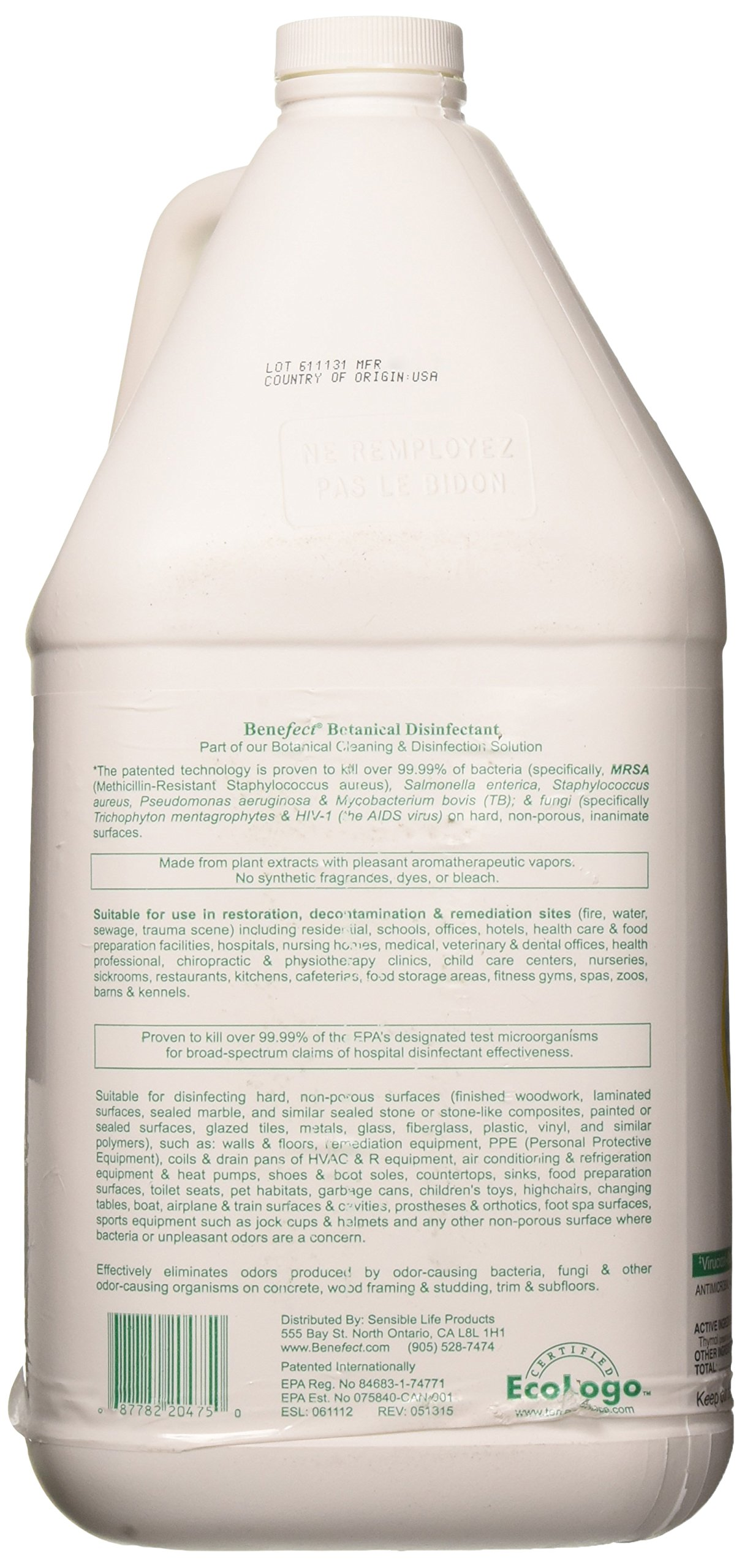 Benefect Botanical Broad Spectrum Disinfectant by Benefect (Image #3)