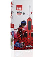 PHB Active Junior Cepillo de Dientes Eléctrico Infantil Recargable, 5.600 rpm