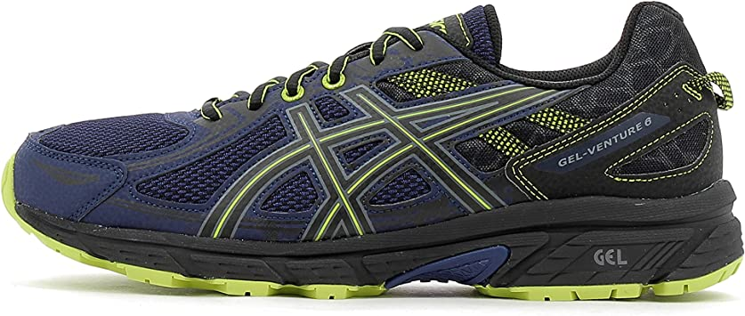 Zapatillas de Trail Running de Hombre Gel-Venture 6 Asics: Amazon ...