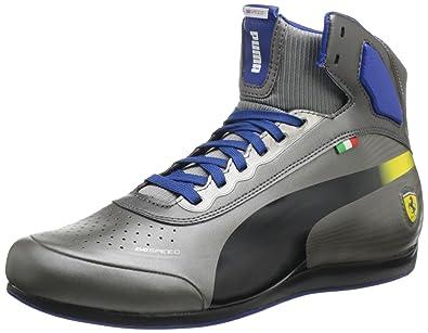 6ba206f3b046 Puma Men s Evospeed 1.2 Mid Ferrari Fashion Sneaker
