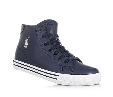 Polo Ralph Lauren - Zapatillas para niño Azul Size: 39: Amazon.es ...