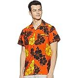 Stylore Funky Hawaiian Shirt for Men Short Sleeves Relaxed-Fit Summer Shirt