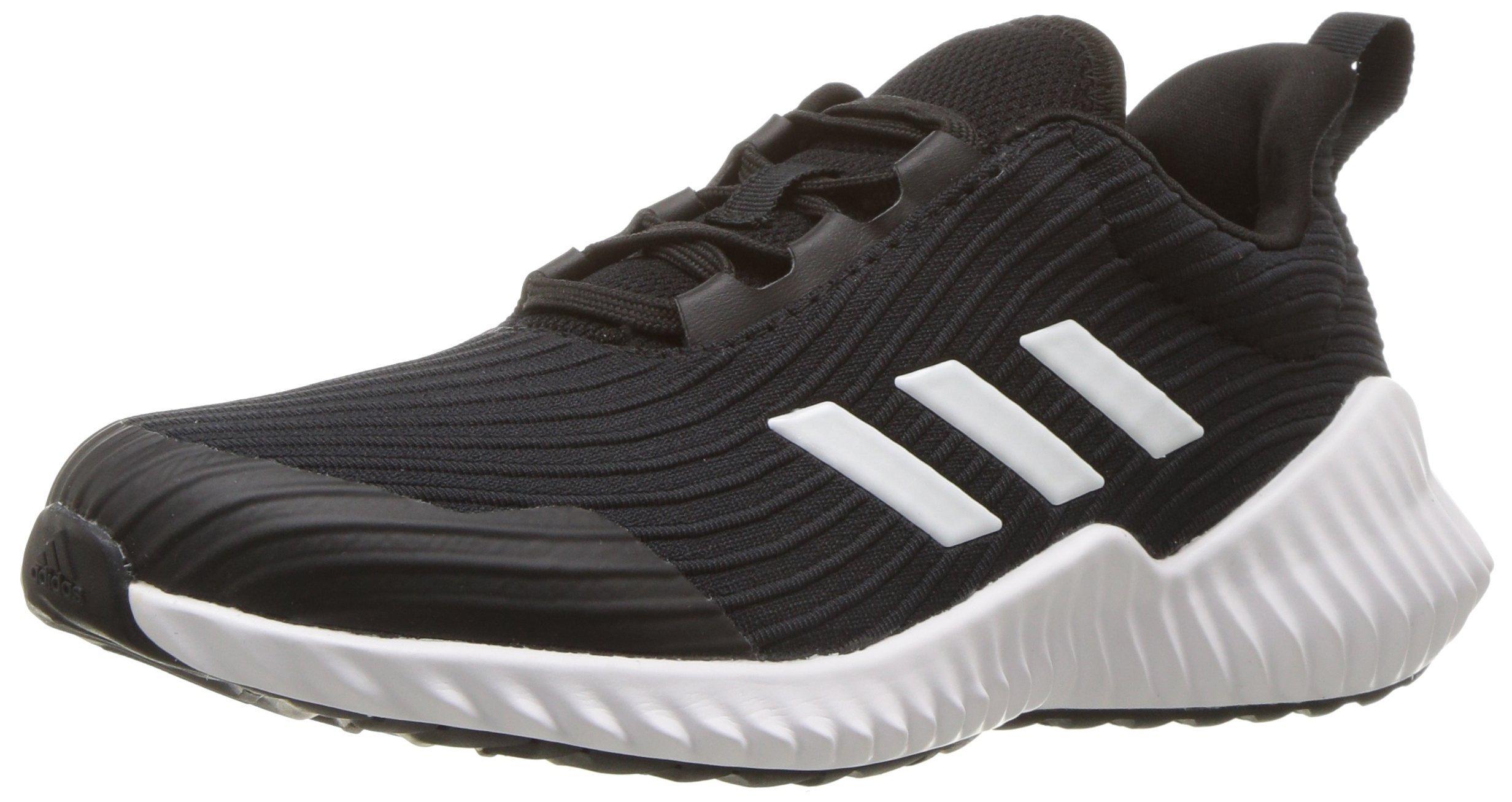 pretty nice 966e7 3075c Galleon - Adidas Originals Unisex-Kids Fortarun Running Shoe,  Black White Black, 13.5K M US Little Kid