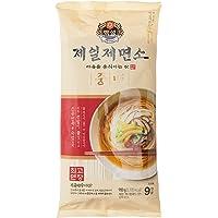 CJ Beksul Plain Noodles Medium (Joongmyun), 900g