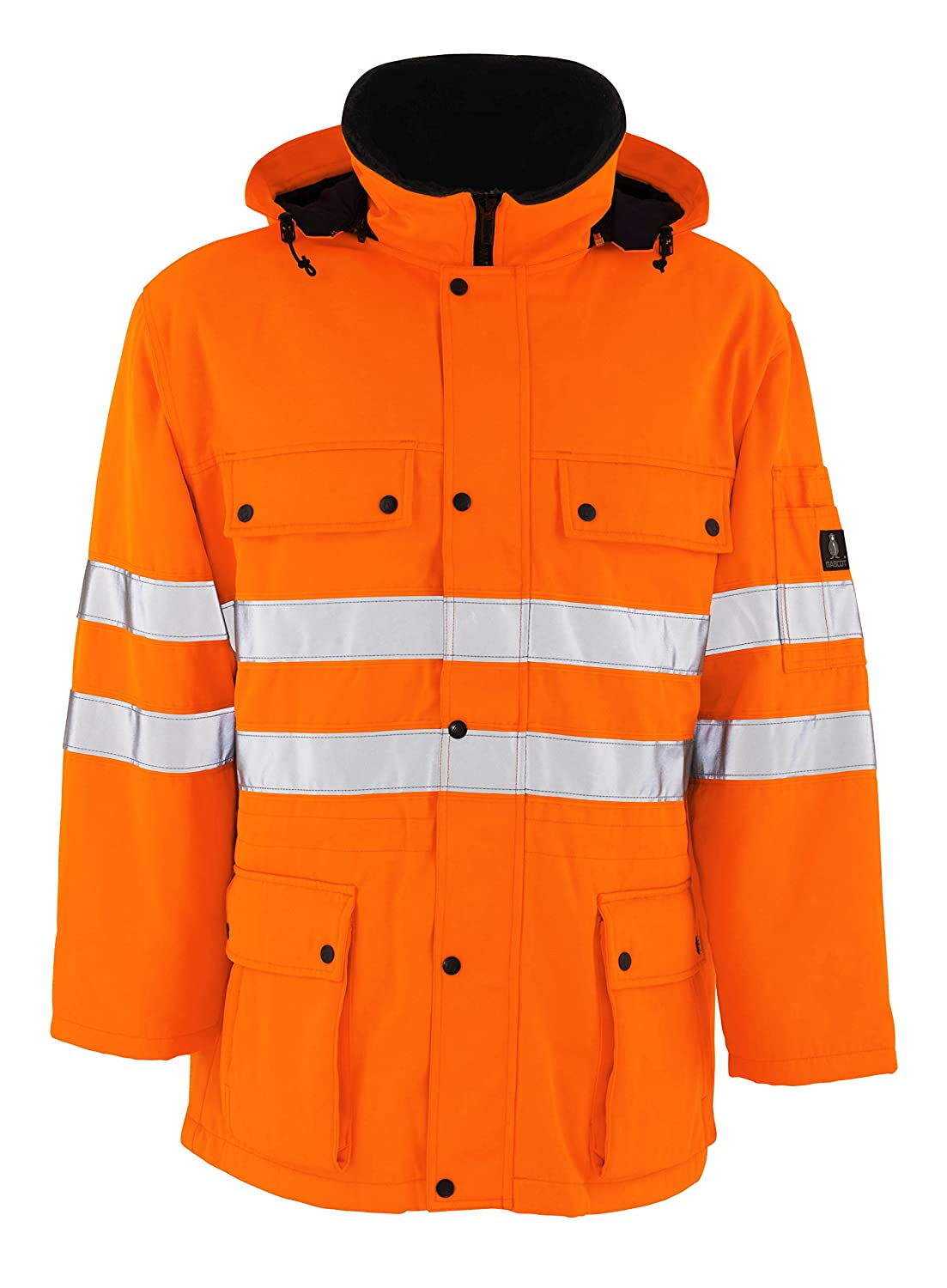 Mascot 00510660144XL Quebec  Parka, 4XLarge, orange
