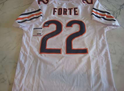 680dec69e00 Signed Matt Forte Jersey - WHITE w COA - PSA DNA Certified ...