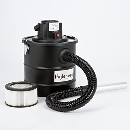 Inglenook 18 Litre Ash Vacuum Fireplace Cleaner BBQ Chimney Dirt Collector Vac 1200W