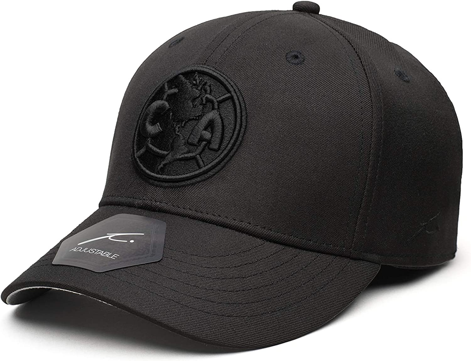 Fi Collection Club America Soccer Dusk Adjustable Hat//Cap Black