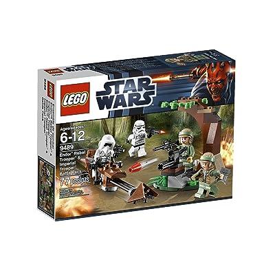 LEGO Star Wars Endor Rebel Trooper and Imperial Trooper 9489: Toys & Games