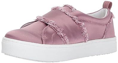 ea70fc51b7bd Sam Edelman Women s Levine Sneaker Pearl Pink Satin 5 Medium US
