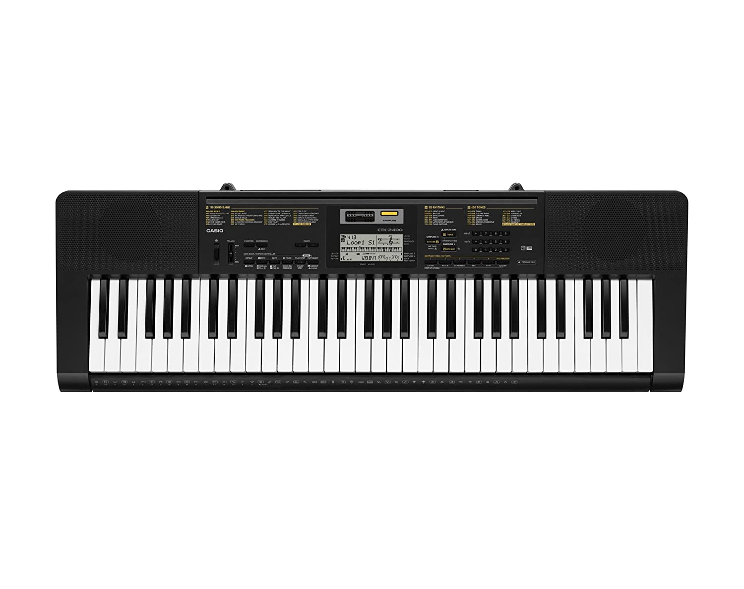 Casio CTK2400 PPK 61-Key Portable Keyboard