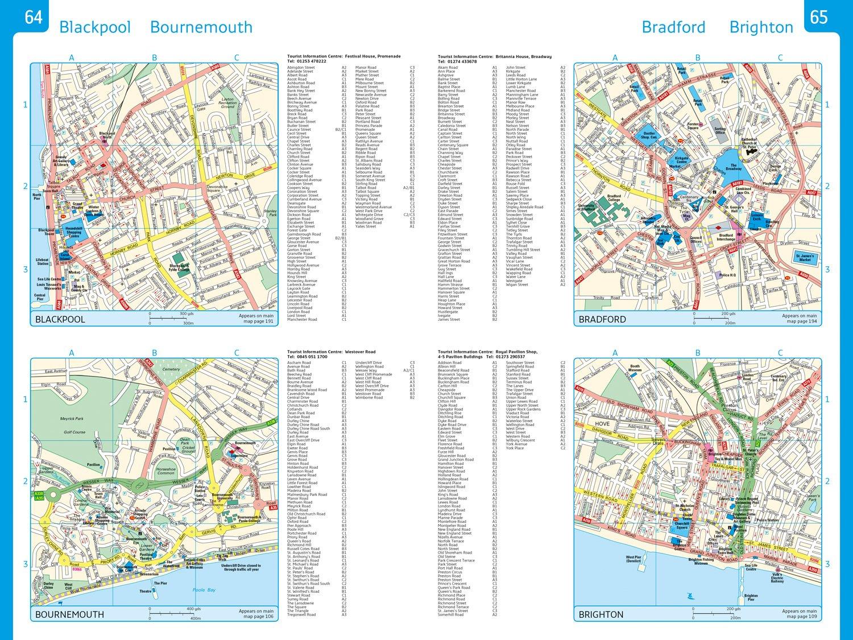2018 Collins Essential Road Atlas Britain Collins Road Atlas: Amazon ...